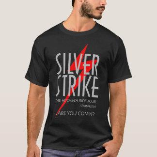銀製の殴打 Tシャツ