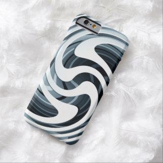 銀製の渦巻のiPhone6ケース Barely There iPhone 6 ケース