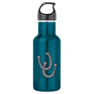 銀製の蹄鉄 ウォーターボトル