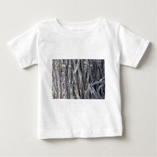 銀製の重金属ワイヤー繊維のデザイン ベビーTシャツ