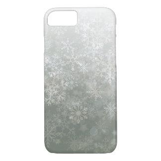 銀製の雪片のカスタムなiPhone 7/iPhone 7の場合 iPhone 8/7ケース