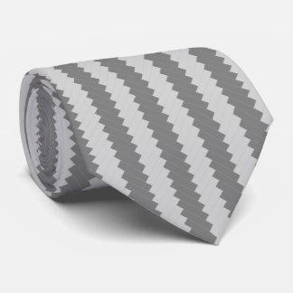 銀製の雲のヘリンボン人のタイ オリジナルネクタイ
