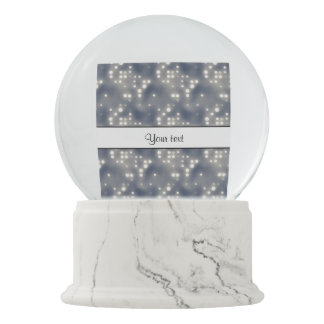 銀製ライト スノーグローブ