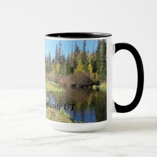 銀製湖-ブライトン、ユタ マグカップ