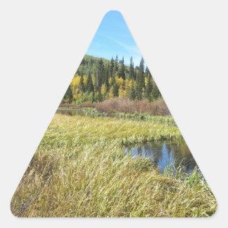 銀製湖-ブライトン、ユタ 三角形シール