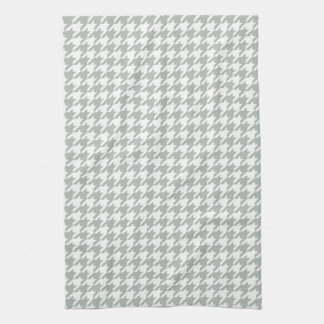 銀製灰色の千鳥格子のな台所タオル キッチンタオル
