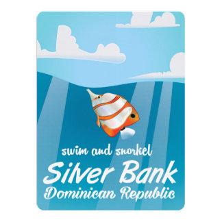 銀製銀行ドミニカ共和国のスノーケル旅行 カード