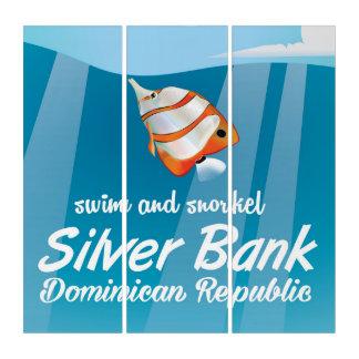 銀製銀行ドミニカ共和国のスノーケル旅行 トリプティカ