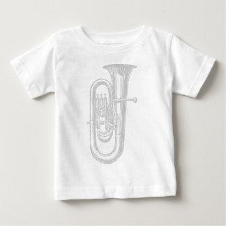 """""""銀""""のテューバ ベビーTシャツ"""