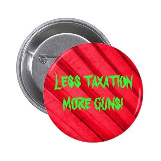 銃および税 5.7CM 丸型バッジ