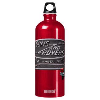 銃および粗紡機の赤の粗紡機 ウォーターボトル