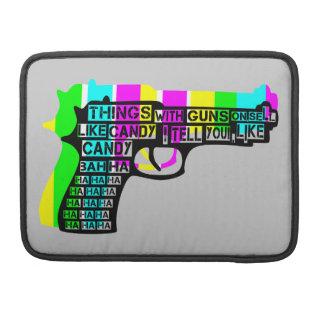 銃との事 MacBook PROスリーブ