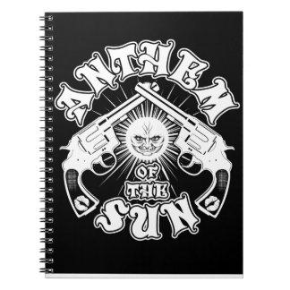 銃のノートの太陽の日曜日の祝歌 ノートブック