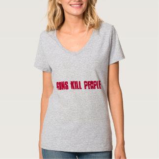 銃の殺害 Tシャツ