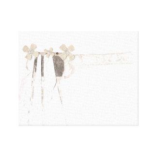 銃の花嫁のキャンバス キャンバスプリント