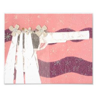 銃の花嫁の写真の紙 フォトプリント