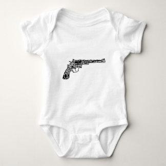 銃の銃 ベビーボディスーツ