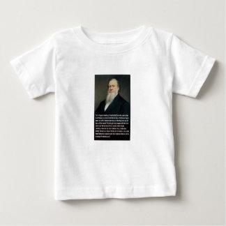 銃のBrigham Young ベビーTシャツ