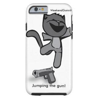 銃のiPhoneの例の跳躍 ケース