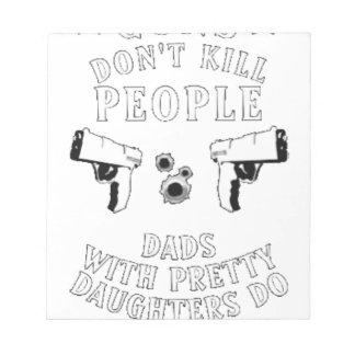 銃は人々を…殺しません ノートパッド