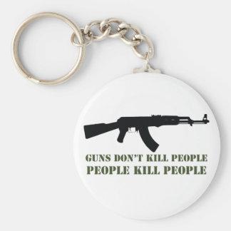 銃は人々、人々の殺害の人々を殺しません キーホルダー