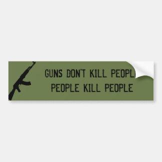 銃は人々、人々の殺害の人々を殺しません バンパーステッカー