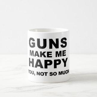 銃は小型兄弟によって私に幸せなコーヒーをします コーヒーマグカップ