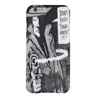 銃を指している写実的で新しい英雄 BARELY THERE iPhone 6 ケース