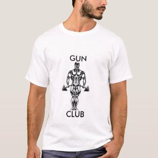 銃クラブ、銃、クラブ Tシャツ
