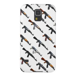 銃パターン電話箱(利用できるすべての場合モデル) GALAXY S5 ケース
