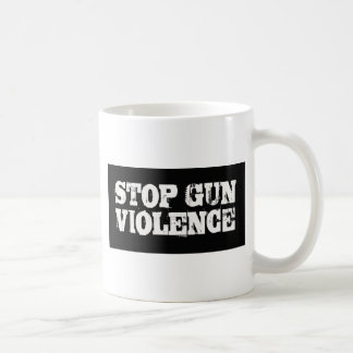 銃犯罪をストップ コーヒーマグカップ