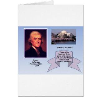 銃砲規制のトーマス・ジェファーソン カード