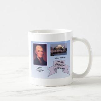 銃砲規制のトーマス・ジェファーソン コーヒーマグカップ