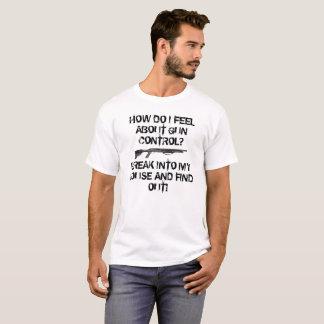 銃砲規制12のゲージ Tシャツ