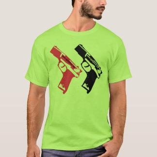 銃銃 Tシャツ