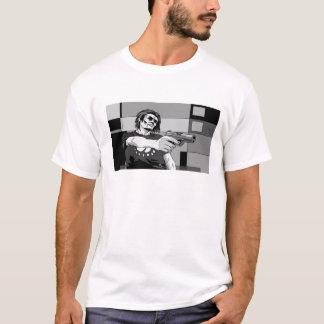 銃2を持つ人 Tシャツ