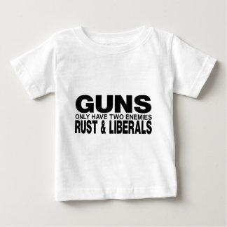 銃 ベビーTシャツ