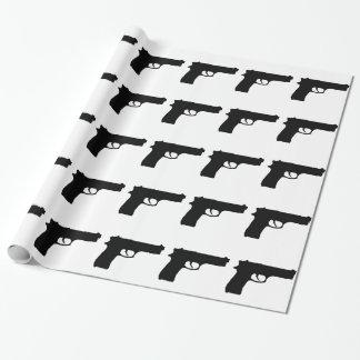 銃 ラッピングペーパー