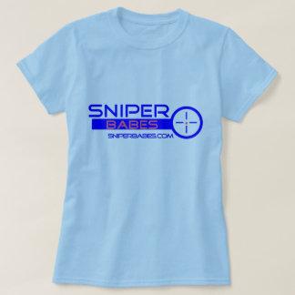 銃SniperBabes.comを持つ女の子 Tシャツ