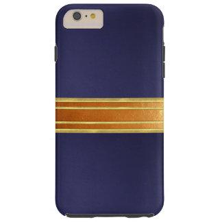 銅のきらめくのカッコいいのiPhone 6のプラスの場合 シェル iPhone 6 ケース