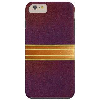銅のきらめくのカッコいいのiPhone 6のプラスの場合 iPhone 6 Plus タフケース