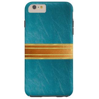 銅のきらめくのiPhone 6のプラスの場合 iPhone 6 Plus タフケース