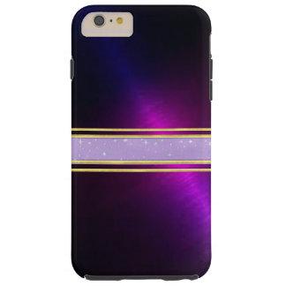 銅のきらめくのiPhone 6のプラスの場合 Tough iPhone 6 Plus ケース