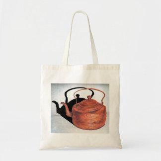 銅のやかん トートバッグ