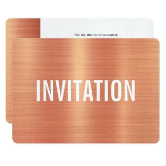 銅のスタイル|のパーティの招待状 カード