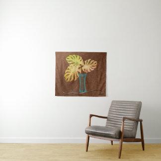 銅の一見のキャンバスのタペストリーの熱帯秋 タペストリー