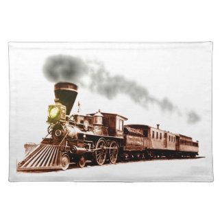 銅の列車 ランチョンマット