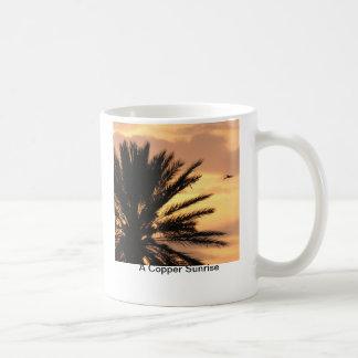 銅の日の出 コーヒーマグカップ