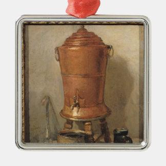 銅の水飲み場、c.1733-34 メタルオーナメント