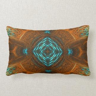 銅の空は枕をアーチ形にします ランバークッション